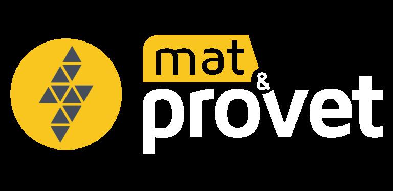logo matprovet transparence blanc