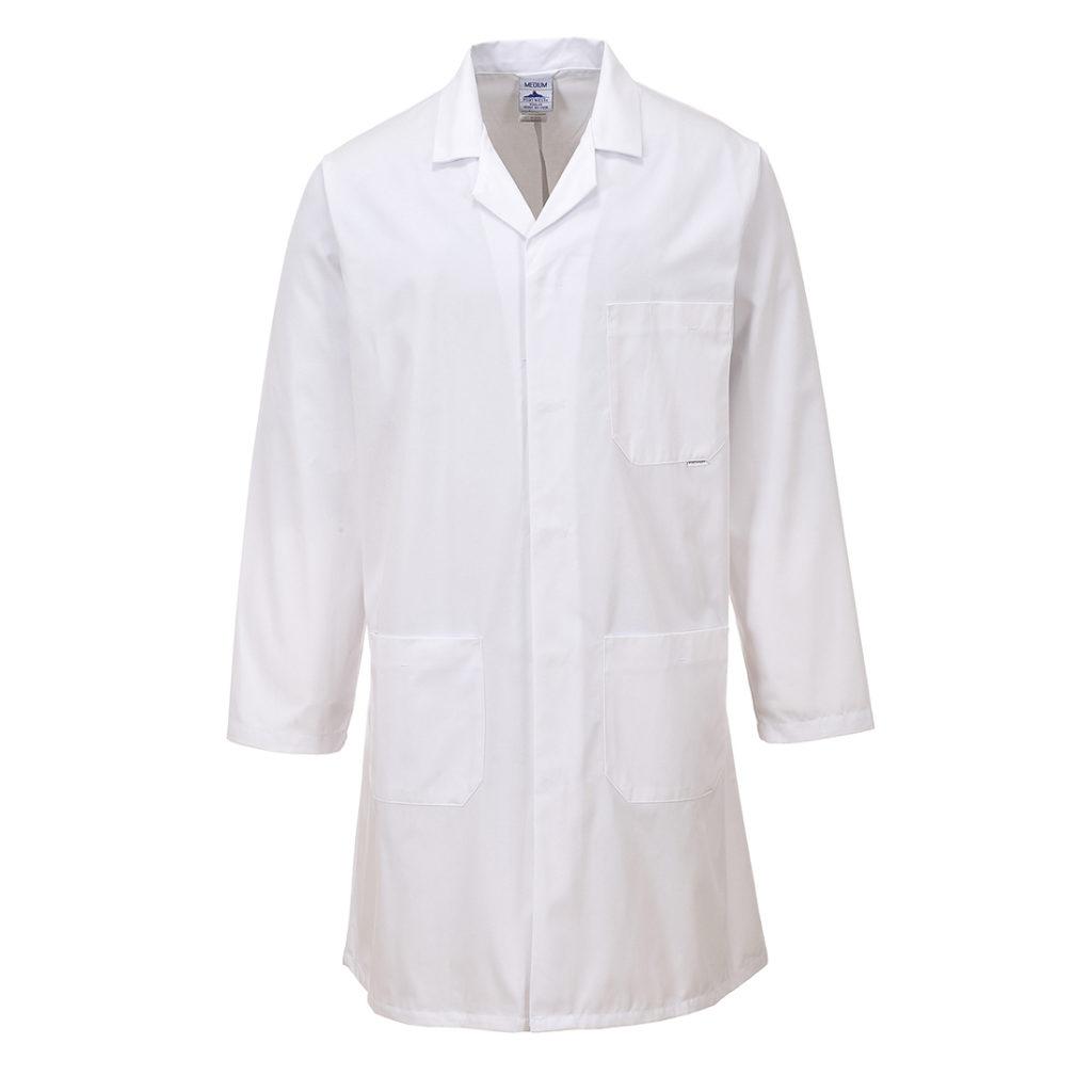 blouse blanche aide à la personne
