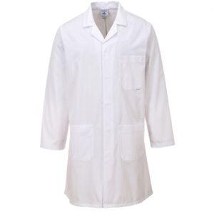 vetements de travail portwest blouse blanche medicale