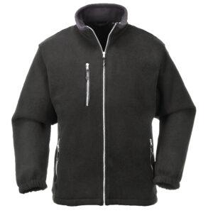 vetements de travail portwest veste polaire f401 noir 1